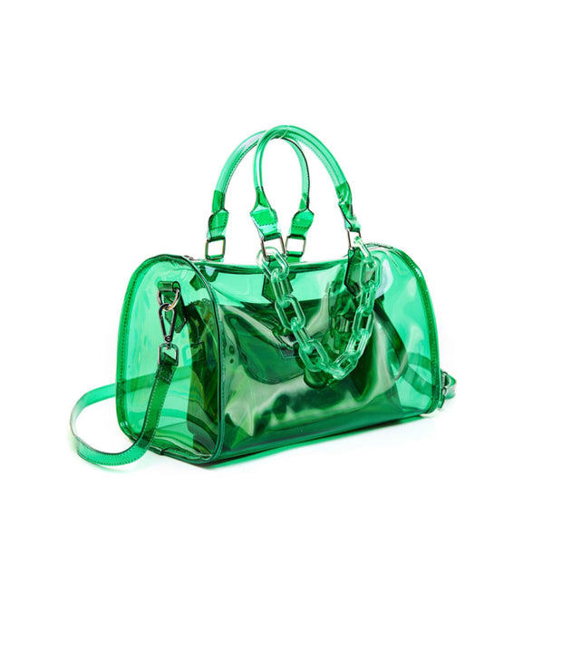 All Clear Jelly Weekender Bag (4 colors)