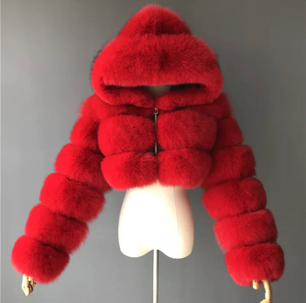 Luxury Fox Fur Coat — A Benton Exclusive