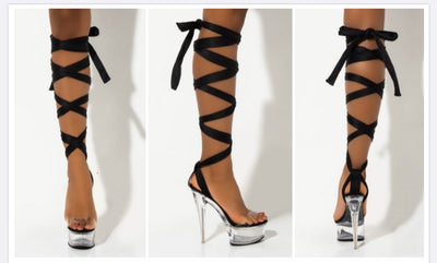 Cinderella Tie Up Platforms