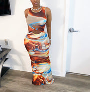 Whirl Maxi Dress