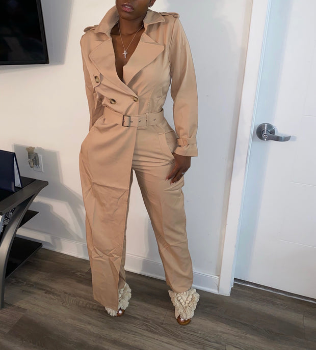 Trench Jumpsuit
