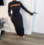Solid Tube Dress w/ Topper (Pre-Order)