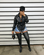 Moto Super Thigh High Boots (Pre-order)