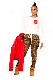 Camo Track Pants for Women