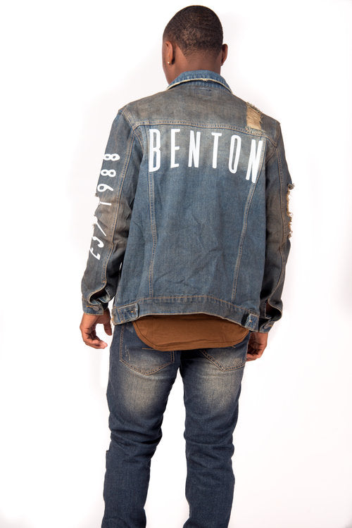 BENTON in Distress Jacket