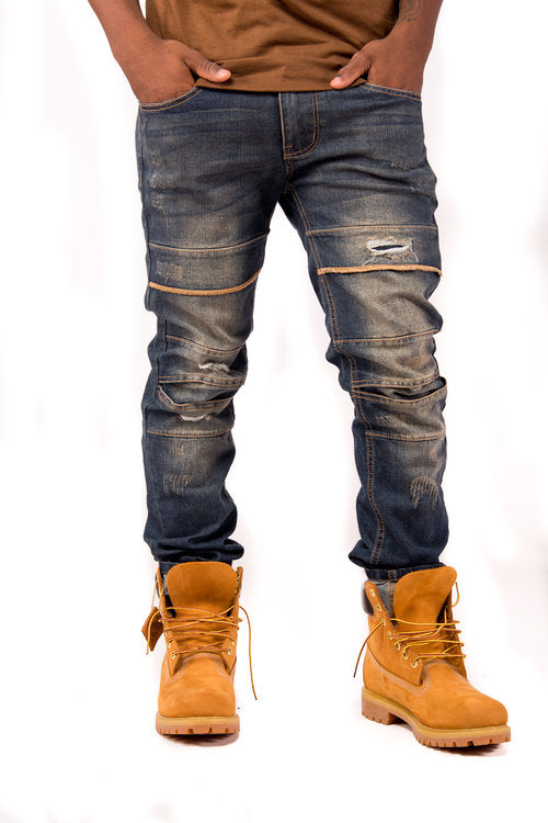 Visible Seams Jeans