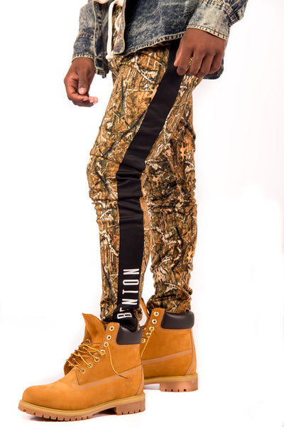 Camo Track Pants for Men
