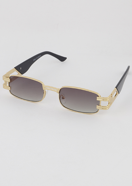 Retro-Tangular Sunglasses