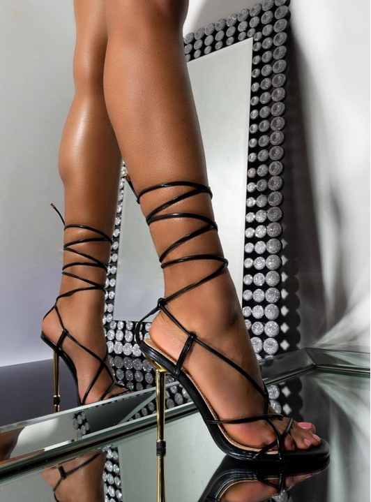 Milan Strappy Heels (Limited Release)
