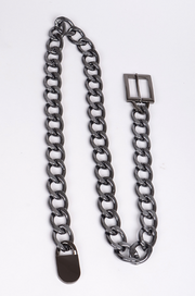 Cuban Link Chain Belt (3 colors)