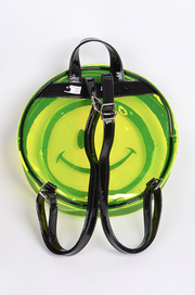 Smiley Transparent Backpack (2 colors)