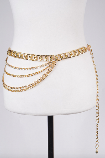 Multi Layer Chainlink Belt