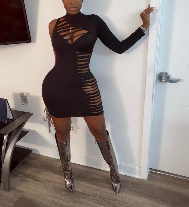 Sliced Dress