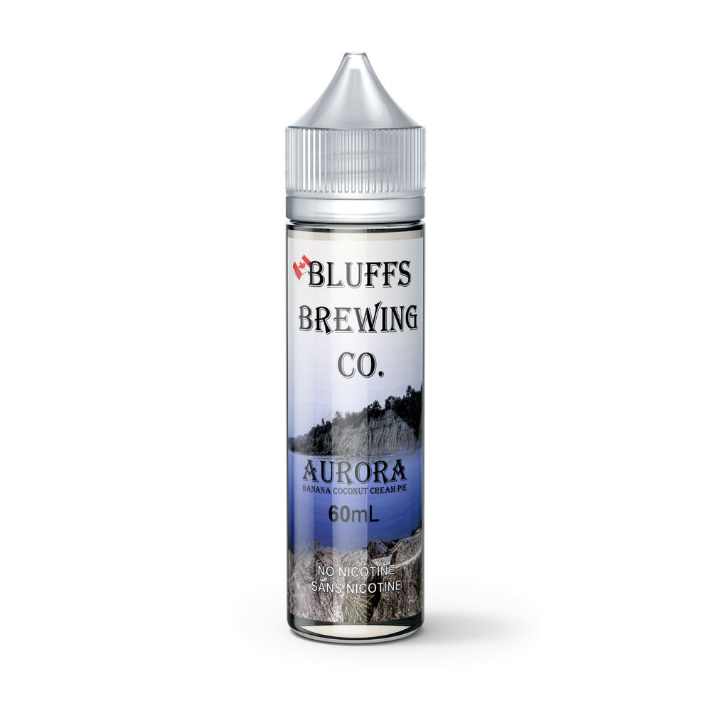 Aurora - Bluffs Brewing Co - E-Liquid, Vape, e-cigarette, vape pen, salt nic,