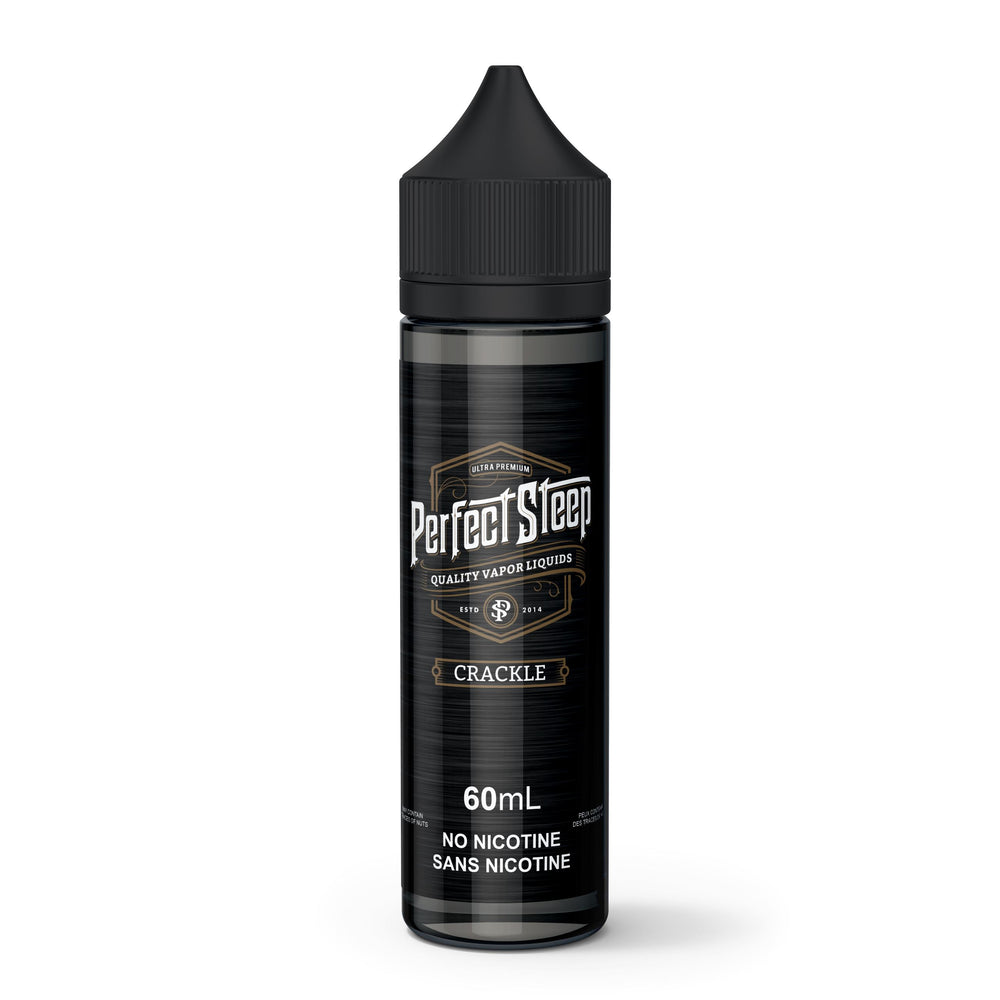 Crackle - Perfect Steep - E-Liquid, Vape, e-cigarette, vape pen, salt nic,
