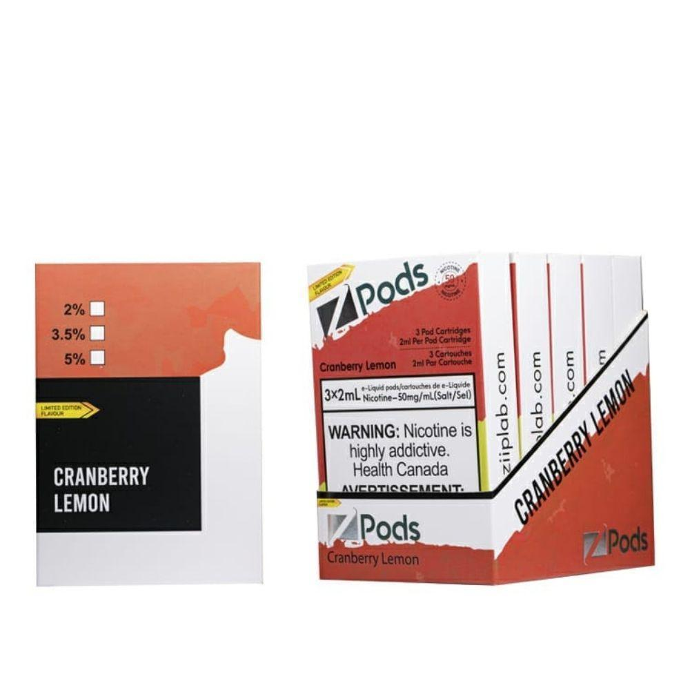 Cranberry Lemon CLOSED PODS Z Labs