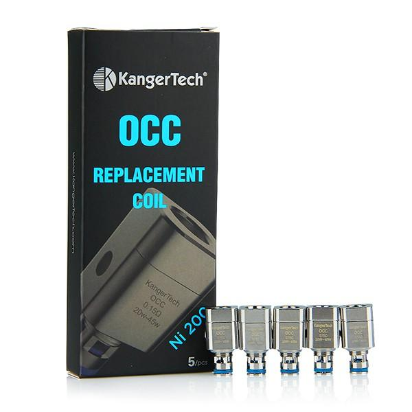 OCC Replacement Coils (Single Coil) - E-Liquid, Vape, e-cigarette, vape pen, salt nic,