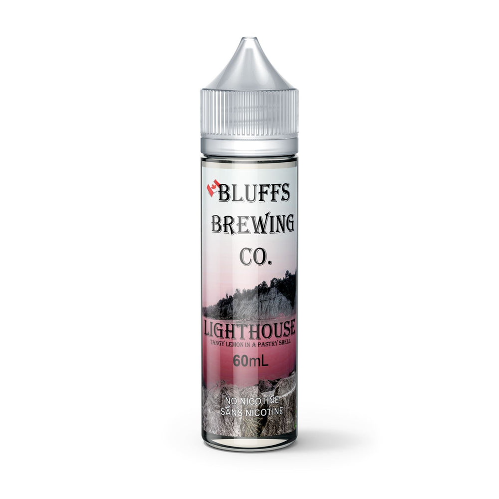 Lighthouse - Bluffs Brewing Co - E-Liquid, Vape, e-cigarette, vape pen, salt nic,