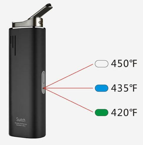 Airis Switch Cannabis Vaporizer