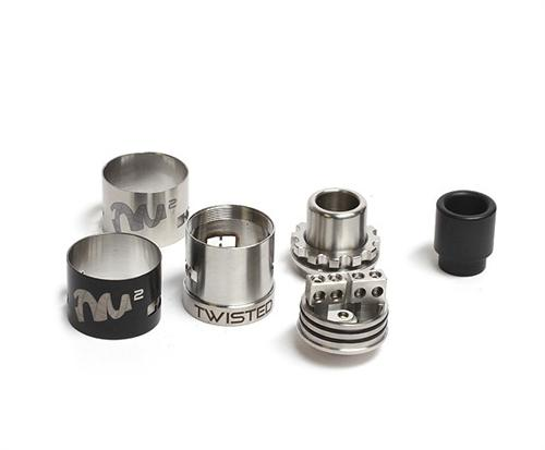 Twisted Messes RDA Squared - E-Liquid, Vape, e-cigarette, vape pen, salt nic,
