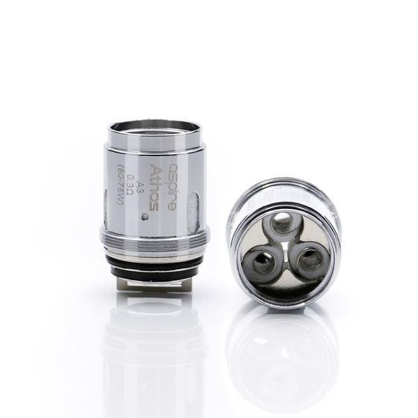 Athos Replacement coils (Single coil) - E-Liquid, Vape, e-cigarette, vape pen, salt nic,