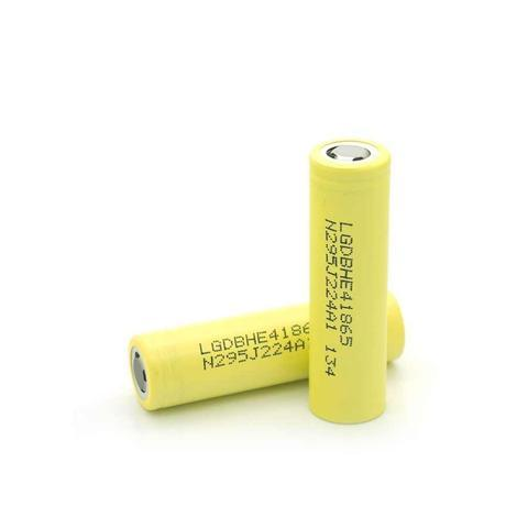 LG HE4 18650 20A 2500 MAH Battery (Sold Individually)