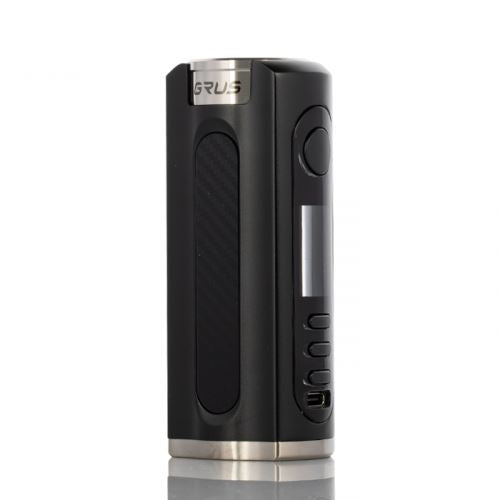 GRUS 100W Box Mod HIGH POWERED DEVICE LOST VAPE Black Carbon Fibre