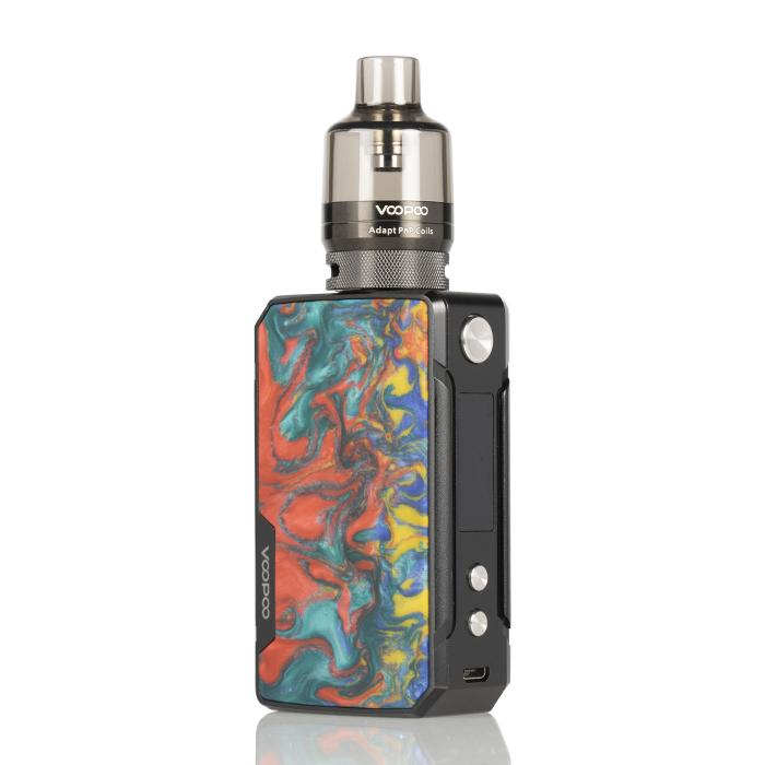 Drag Mini 117W Refresh Edition High Powered Starter Kit HIGH POWERED DEVICE VOOPOO Coral
