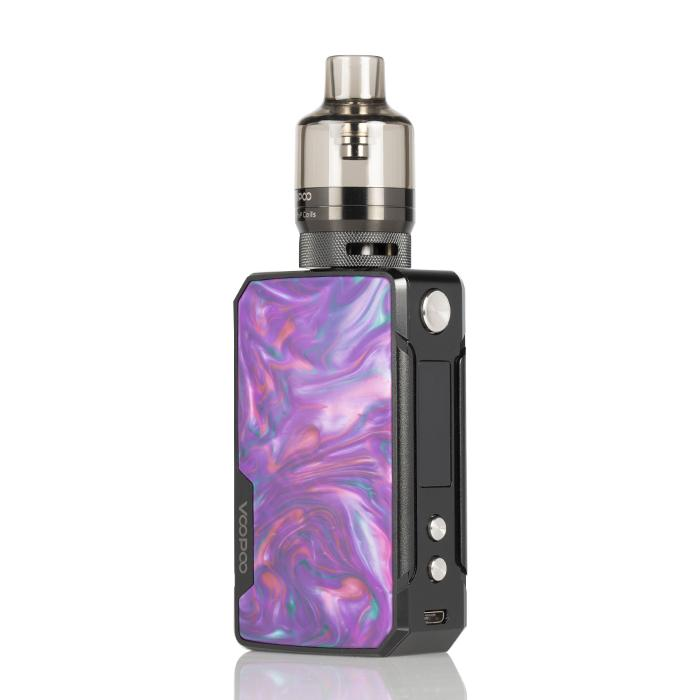 Drag Mini 117W Refresh Edition High Powered Starter Kit HIGH POWERED DEVICE VOOPOO Purple