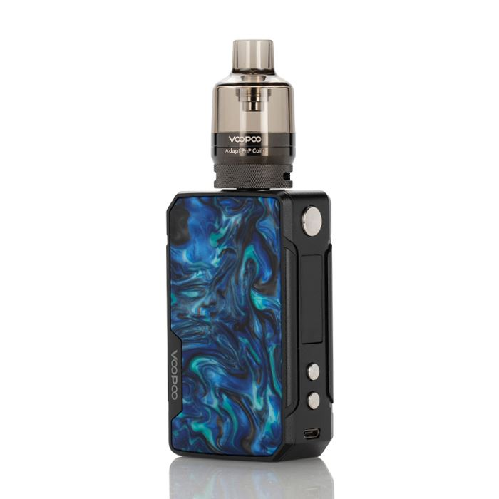 Drag Mini 117W Refresh Edition High Powered Starter Kit HIGH POWERED DEVICE VOOPOO Prussian Blue