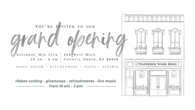 Our Boutique is Opening May 15, 2021!