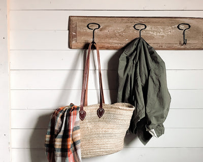 How to Make a Coat Rack from a Repurposed Door Panel