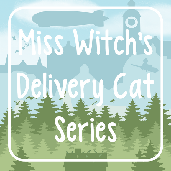 Miss Witch's Delivery Cat Series