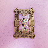 *LIMITED EDITION* Soot Sprite Hourglass Stacked Pin