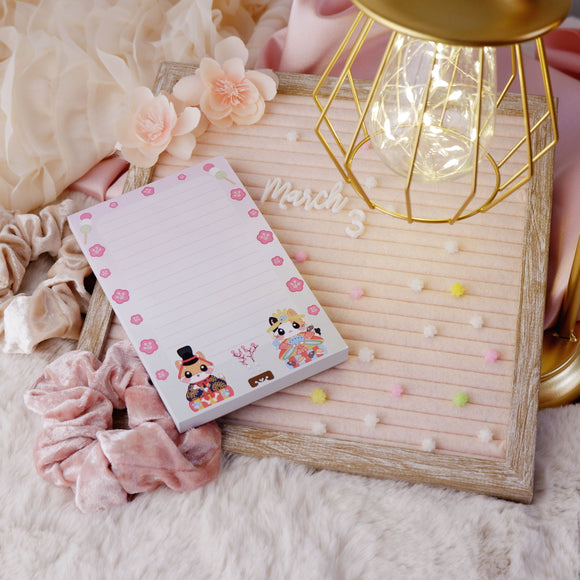 Girls Day Notepad Stationary