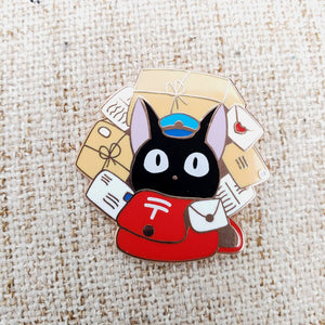 Mail Delivery Cat ~ Kiki's Delivery Service Fan Art ~