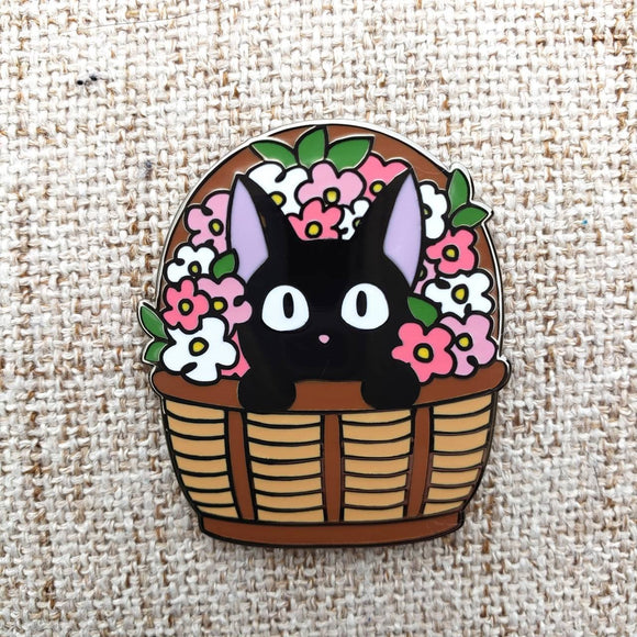 Wait, That's No Flower! Enamel Pin ~ Kiki's Delivery Service Fan Art ~