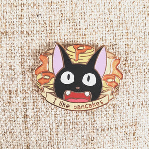 Provided They Aren't Burned Enamel Pin ~ Kiki's Delivery Service Fan Art ~