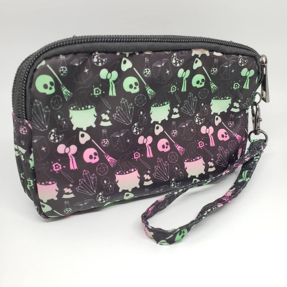 *CLEARANCE* Witch print cosmetic/pencil bag