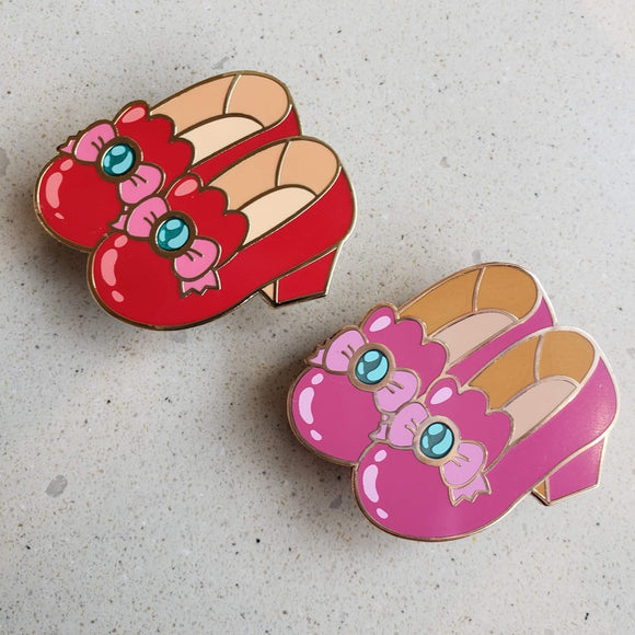 Miss Witches Dream Shoes hard enamel pin