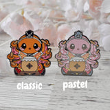 Girls Day Hinamatsuri Enamel Pins ~ Taiko Octopus
