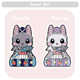 Girls Day Hinamatsuri Enamel Pins ~ Singer Bat