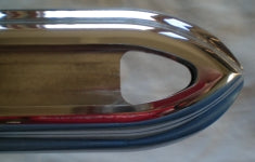 1965-1967 Bus Euro Spec Rear Bumper-Bumper Trim-Westling Machine-Polished-Westling Machine