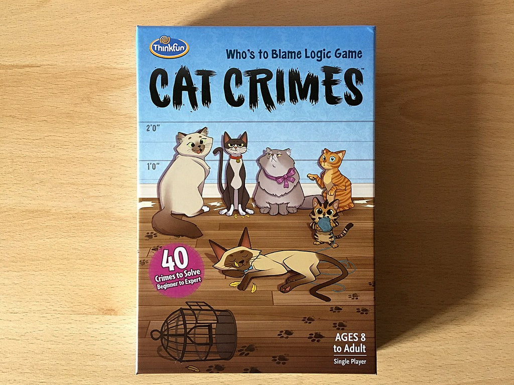 Cats and tabletop gaming, what's not to love? Our furry feline friends have provided the theme for many games over the years and I'm here to share seven of them with you today, from single-player logic games to party games, dexterity games to memory...