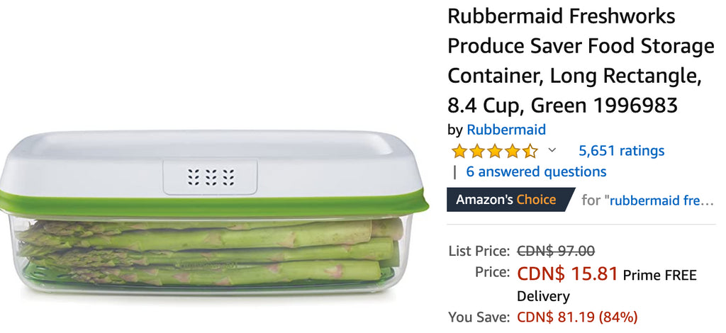 Amazon Canada Deals: Save 84% on Rubbermaid Food Storage Container + 20% on Electric Scooter + 26% on Party Disco Lights Speaker + More Offers
