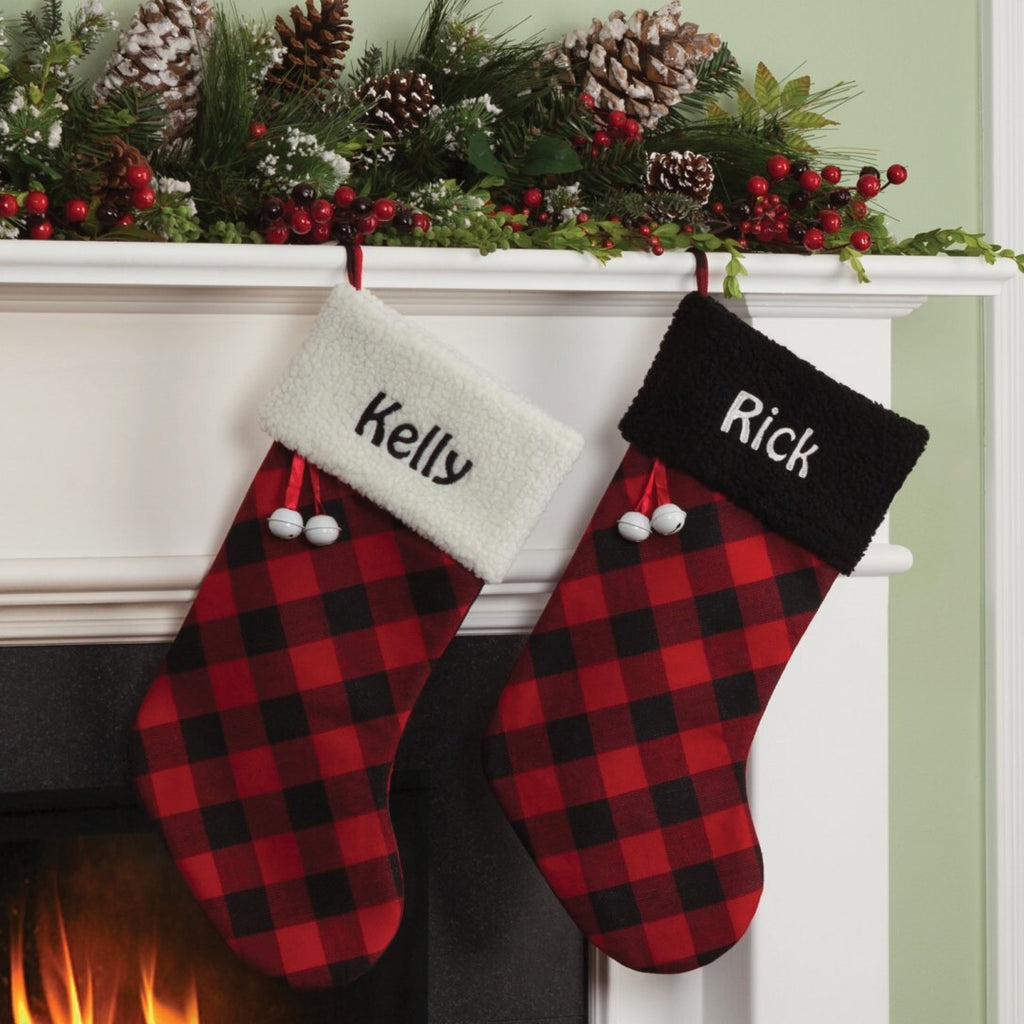 Outstanding Buffalo Plaid Stocking