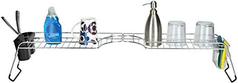 Frigidaire Over-the-Sink Kitchen Organizer & Space Saver, Dish Soap Holder and Drying Rack