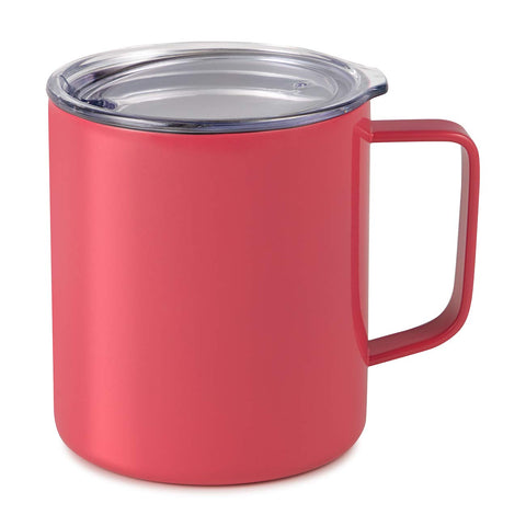 Maars Drinkware 79717-1PK Insulated Coffee Mug, 1 Pack, Coral