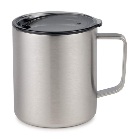 Maars Drinkware 79700-1PK Townie Insulated Coffee Mug, 1 Pack, Silver