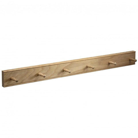 Oak Mug Rack Oak 6 Peg